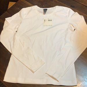 White l/s T-shirt